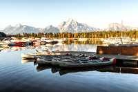 20180910-JAH03121: The marina at Colter Bay Village in Grand Teton NP.