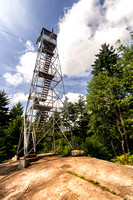 20180819-JAH01776: Stillwater fire observation tower, Adirondacks NY.