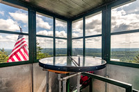 20180819-JAH01788: Stillwater fire observation tower, Adirondacks NY.