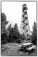 20180818-JAH01673: Wakely Mountain fire observation tower in Lake Pleasant NY.