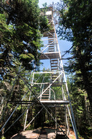 20180820-JAH02021: Snowy Mountain fire observation tower in Indian Lake NY.
