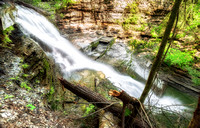 20180528-JAH09323: Grimes Glen in Naples NY has some pretty outstanding waterfalls to explore.