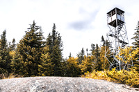 20170728-JAH05200: Owls Head fire observation tower in Long Lake, Adirondacks NY.
