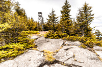 20170728-JAH05272: Owls Head fire observation tower in Long Lake, Adirondacks NY.