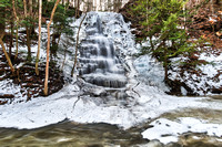 20190204-JAH06428: Waterfall #1 in Grimes Glen during a rare February thaw.