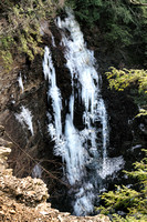 20190204-JAH06442: Angel Falls in Conklin Gully, Naples NY during a  rare February thaw.