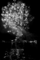 20190703-JAH08545: Ring of Fire fireworks on Conesus Lake in the Finger Lakes region of NY State.